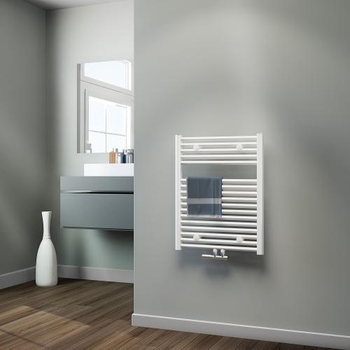 Badkamer Radiator Vermogen.Badkamer Radiator 600 X 775 Wit 5 Jaar Garantie De Sanitairstunthal