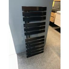 HSK Yenga designradiator 500x1186 mm hoogglans zwart.