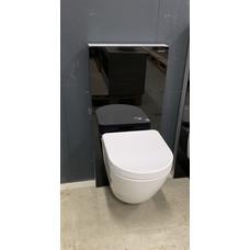 Geberit Monolith sanitairmodule + Toto rimless toilet CW762Y.