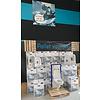 Villeroy en Boch Pura complete toiletset inclusief inbouwreservoir (up320)en drukplaat(sigma 20 wit/chroom/wit)