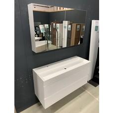 Pelipal Badmeubel 120 x 45cm inclusief spiegelkast.