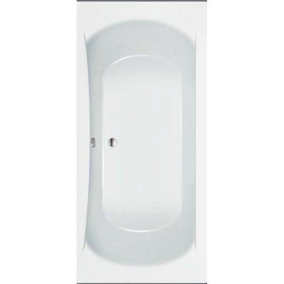 Sanitairstunthal Ligbad Toledo 180 x 80 cm inclusief badpoten kleur wit