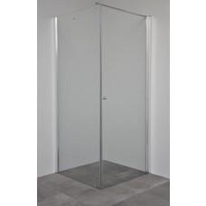 Sanitairstunthal Draaideur inclusief zijwand 100 x 100 cm