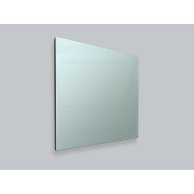 Sanitairstunthal spiegel 100 x 65 cm aluminium