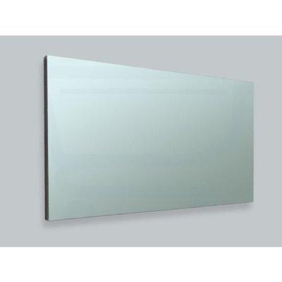 Sanitairstunthal spiegel 120 x 65 cm aluminium
