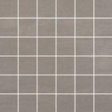 Sanitairstunthal Unit Four tegelmat 30x30 cm. blok 5x5 cm. doos a 11 stuks midden grijs