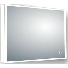 Sanitairstunthal spiegel 100 x 80 cm. met led verlichting rondom