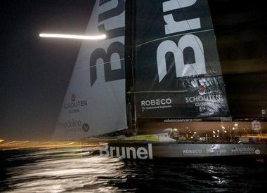 Team Brunel third into Cape Town