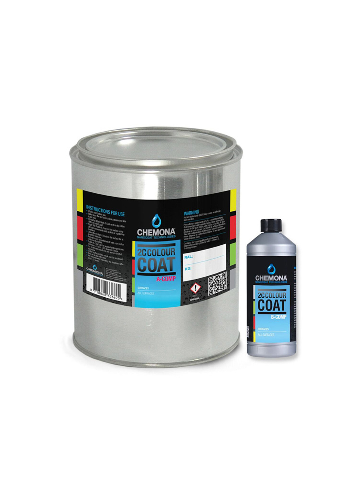 Nanocoat 2c Colour Coat 1ltr