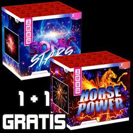 Rubro 1+1 GRATIS Sonic Stars & Horsepower