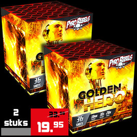 Geisha PyroRebels Golden Hero