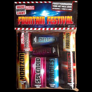 Pyro Adventure Fountain Festival