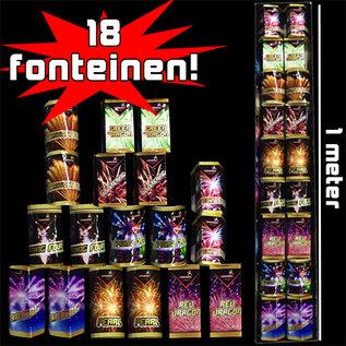 Vuurwerk Tilburg Meterpakket Fonteinen
