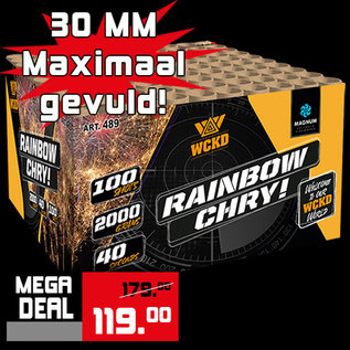 """Magnum 1.2"""" Rainbow Chry"""