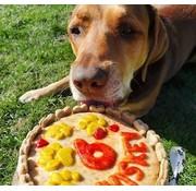 Hondentaart 'Rond' (16cm)