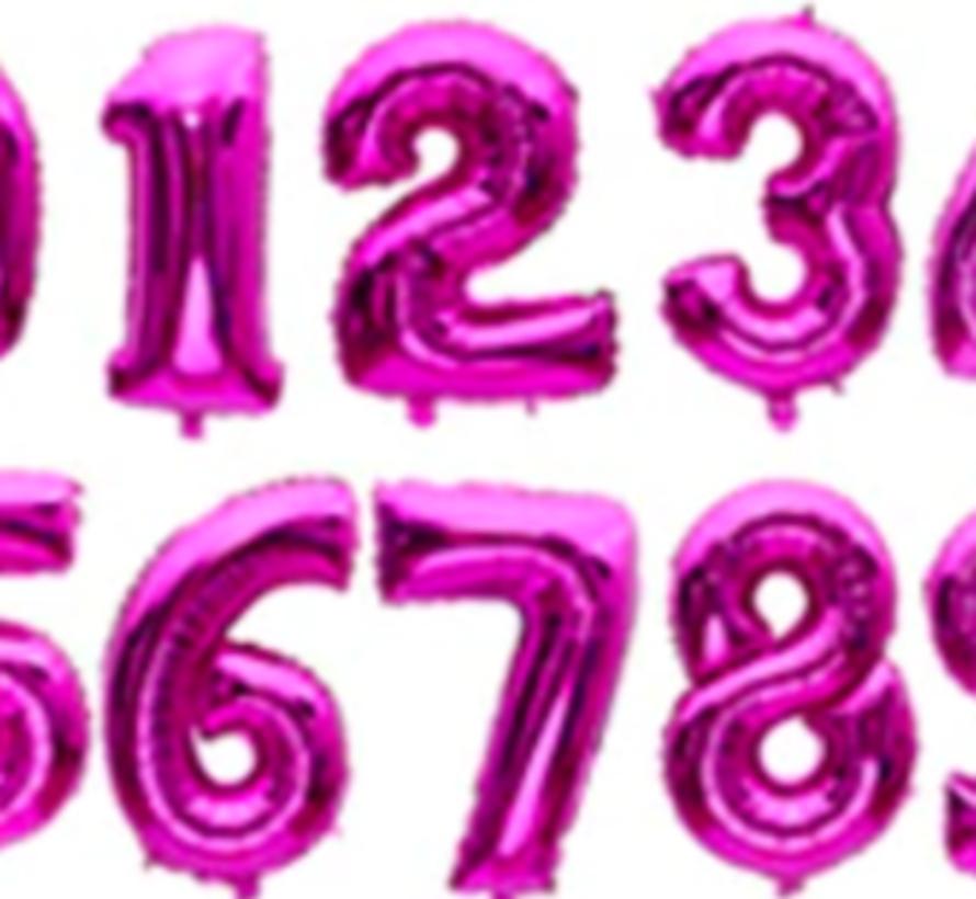 Verjaardagsballon ROZE