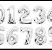 Verjaardagsballon  ZILVER