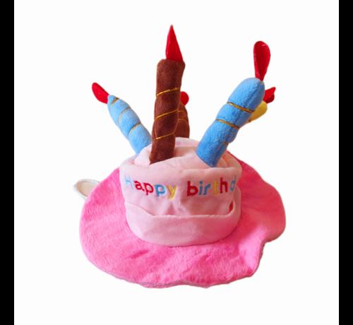 Verjaardagshoedje - Stof