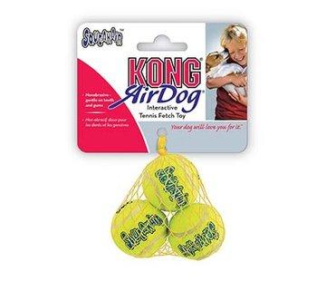 Kong Kong air  tennisballen 3st Geel M