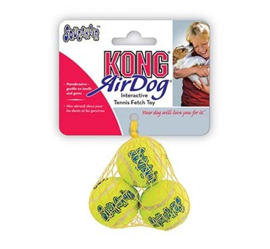Kong air squeakair tennis ball 3st Geel M