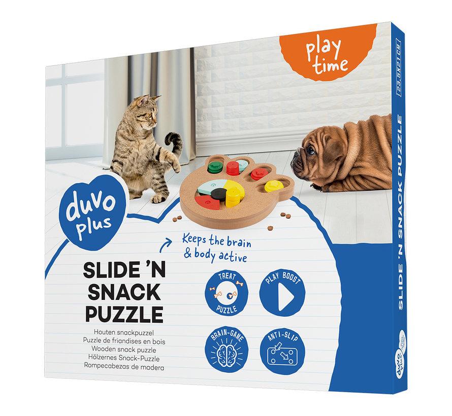 Slide `n snack puzzle - poot Meerkleurig 23,5x21x2,5cm