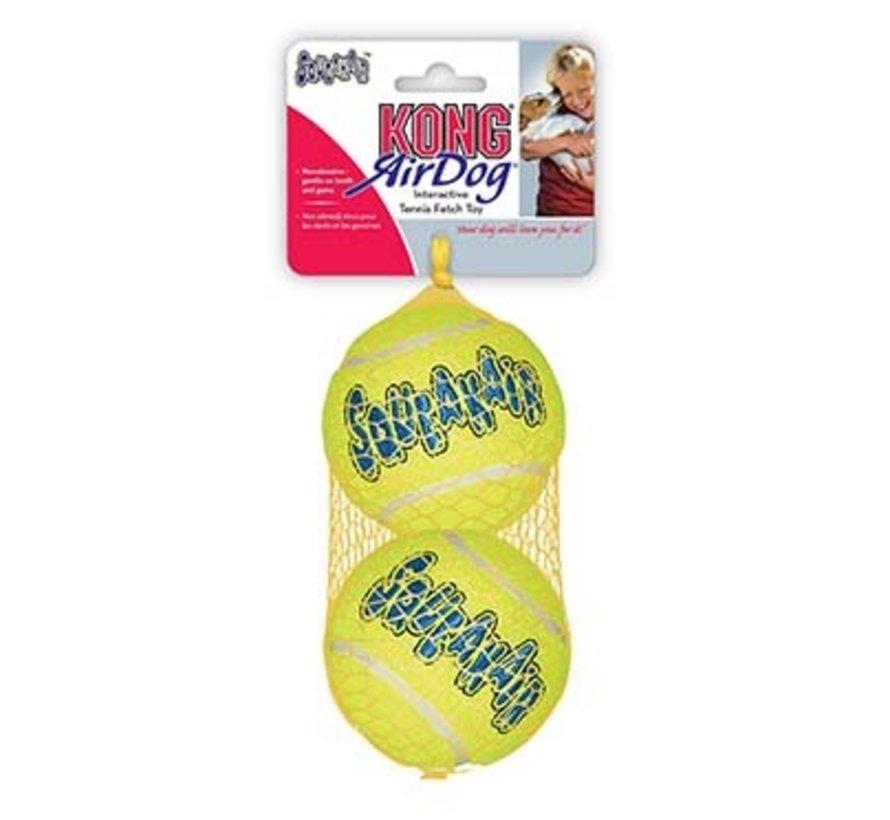 Kong air squeakair tennis ball 2st Geel L