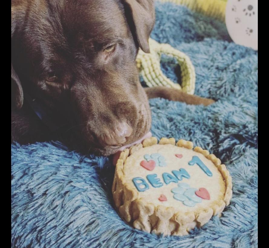 Hondentaart 'Rond' (12cm)