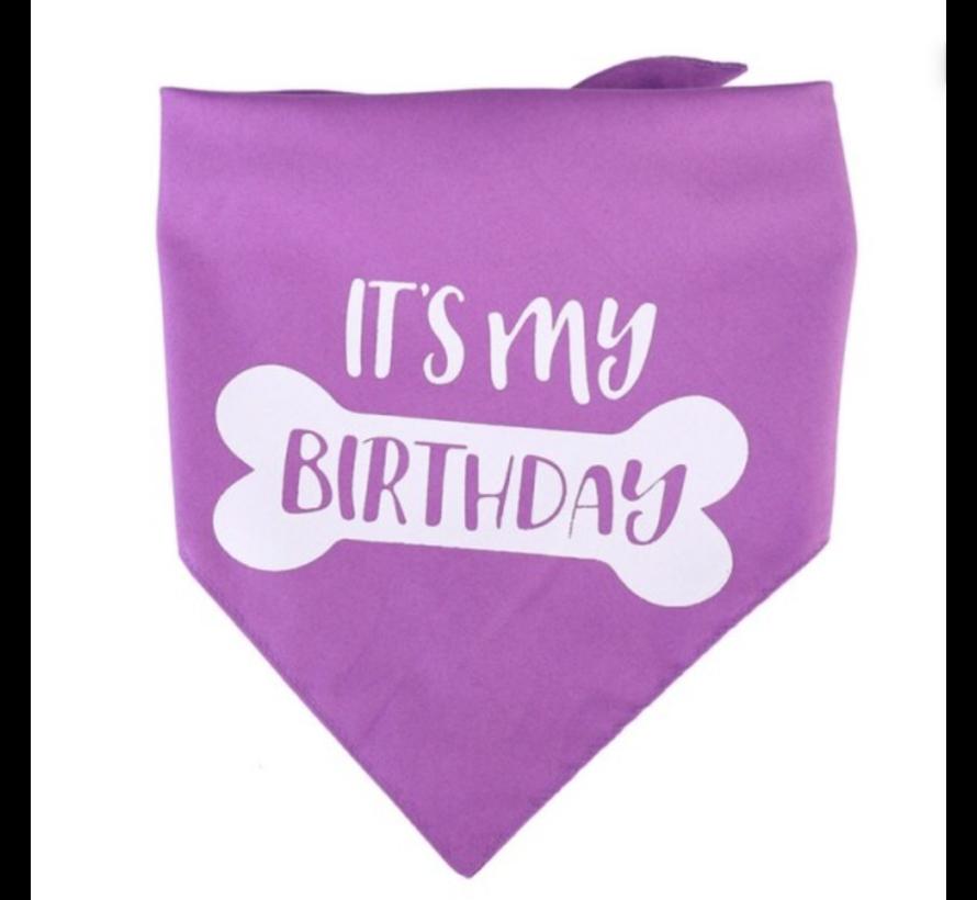 Bandana 'It's my Birthday'