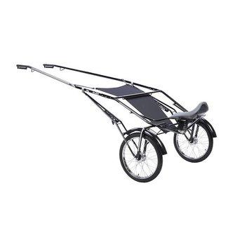 FinnTack Jogcart speedcart staal