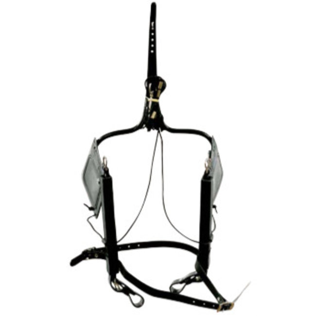 Racing Tack Vierkante oogkleppen lift  synth RT