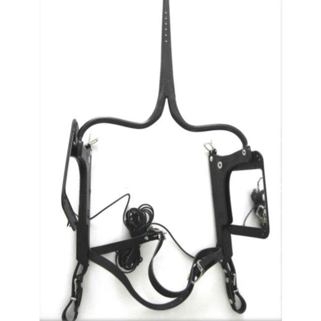 Racing Tack Vierkante oogkleppen lift  spiegel  RT