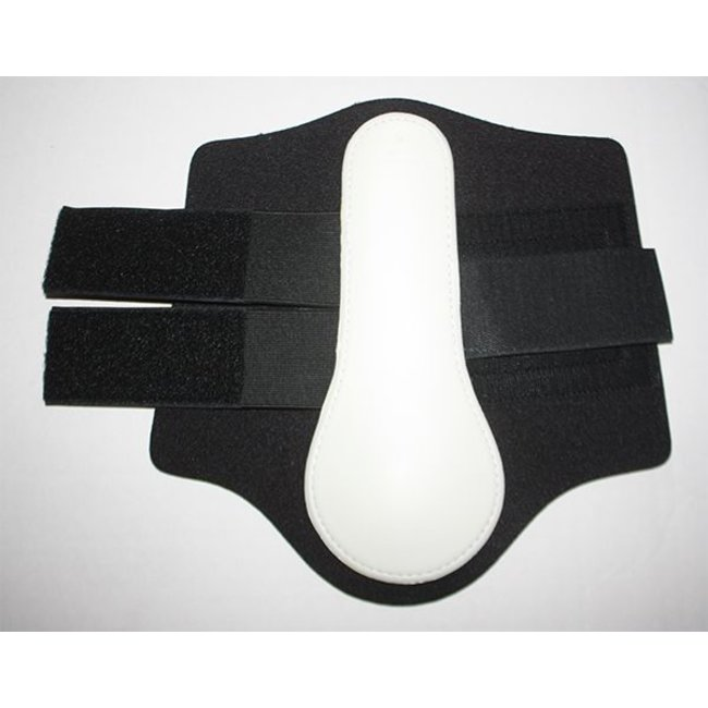 Racing Tack Tendon boots protection White RT