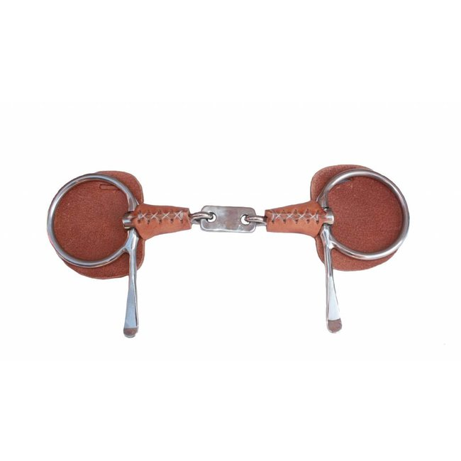 Racing Tack Bit Bristol leather covered