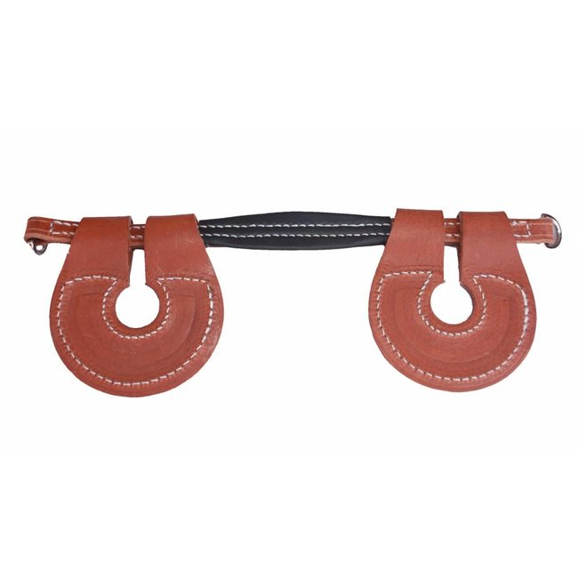 Racing Tack Jaw strap leather RT