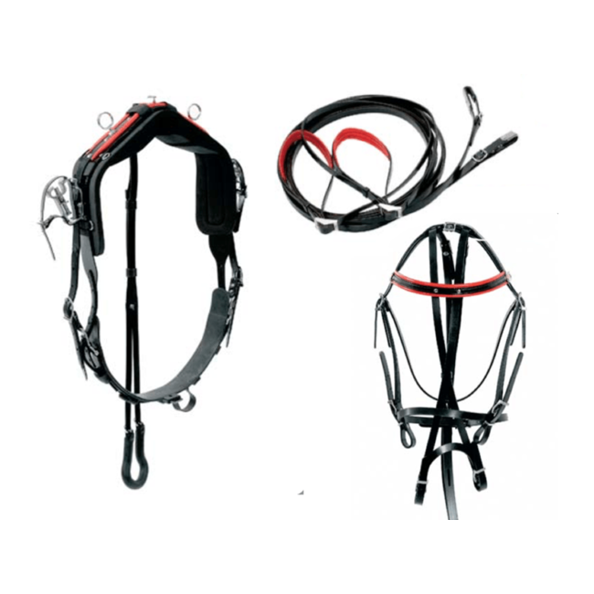 Racing Tack Harnais QH RT complete rubber
