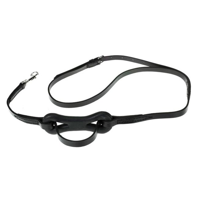 FinnTack Martingale with rubber in leather