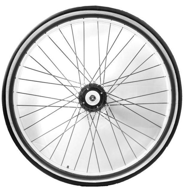 Race wheel colored spokes + cover