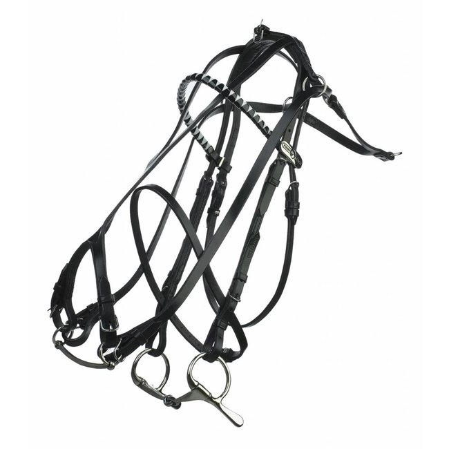 FinnTack Leather bridle double check Finntack -