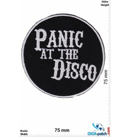 Panic at the Disco  Panic at the Disco -Alternative Rock - black