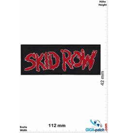 Skid Row  Skid Row - silver - Hard-Rock-/Hair-Metal-Band