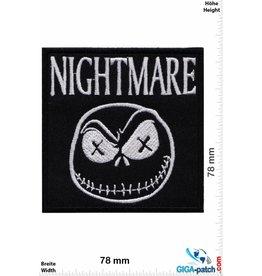 Nightmare Nightmare - Ghost - Smiley - Nightmare before christmas