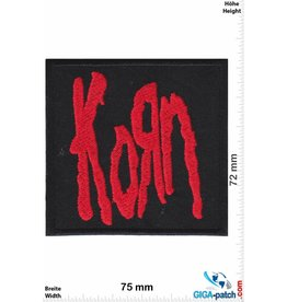 Korn Korn - red - Metalband
