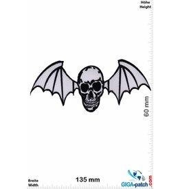 Skull Totenkopf Fledermaus