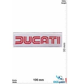 Ducati Ducati - white red