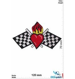 Heart Race - Heart  Flame