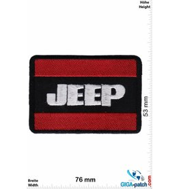 Jeep JEEP - rot silber