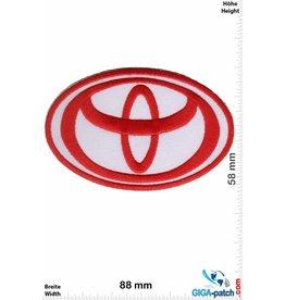 Toyota Toyota - weiss rot