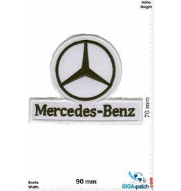 Mercedes Benz Mercedes - white black