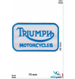 Triumph Triumph - Motorcycles - blau