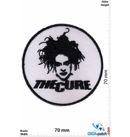 The Cure  The Cure - round - Pop-/Rock-/Wave-/Gothic-Band